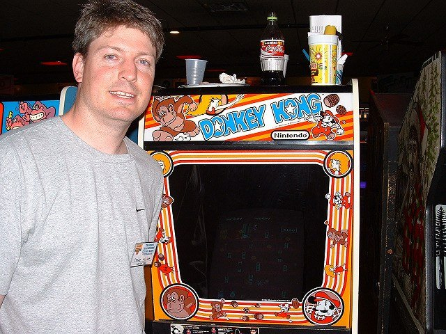 Wiebe's orignal 1 million points was made on August 3, 2006. The score set was 1,049,100.